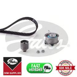 Courroie De Distribution Gates Kitk055569xs Pour Audi Ford Seat Skoda Volkswagen Tendeur