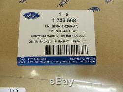 Ford Focus Rs St Neuf Véritable 2.5 Duratec Kit De Distribution 1726568