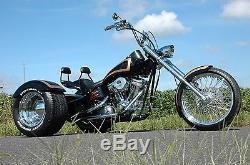 Kit De Conversion D'essieu De Trike D'adn 1 1/2 Entraînement Par Courroie De Poulie De 70 Dents Harley Chopper