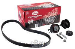 Portes Powergrip Courroie De Distribution Kit Volkswagen Golf Plus 1.9 05-09 (k055569xs)