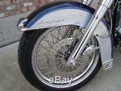 Pour Harley Heritage, Espace De Boulon De Rotor De Frein Pour Poulie De Frein À Super Rayon De 2007 À 2007, Hauteur Supérieure