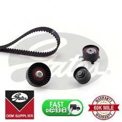 Véritable Gates Timing Cam Belt Kitk015508xs Pour Ford Cabelt Tensioner