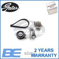 Vw Audi Seat Skoda Water Pump & Timing Belt Kit Oem Gates Kp15491xs 06b109119b