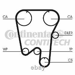 Zahnriemensatz Conti Synchrobelt Kit Contitech Ct737k1