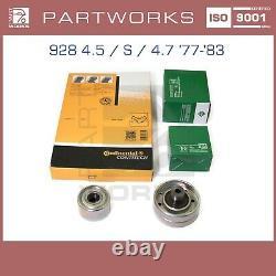Zahnriemensatz Für Porsche 928 4.5 S 4.7 77-83 Zahnriemen Laufrollen Set